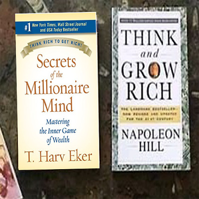 Secrets of the Millionaire Mind AND Think and Grow Rich! (Latest edition !)