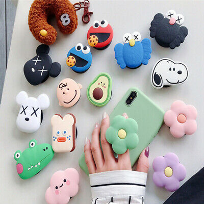 Phone Holder Stand Finger Holder Universal Socket Cute Expanding Cartoon