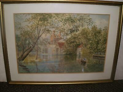 English School Lakeland   Landscape Watercolour Late C19Th To Early C20Th