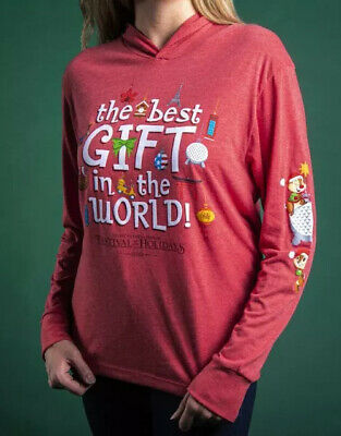 Disney EPCOT 2019 Festival Of The Holidays Chip Dale Long Sleeve Shirt ANY SIZE