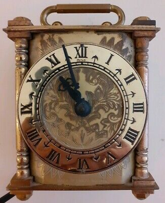 """Vintage Electric Mantle Clock By Smiths Clocks And Watches 4"""" 11cm Tall"""