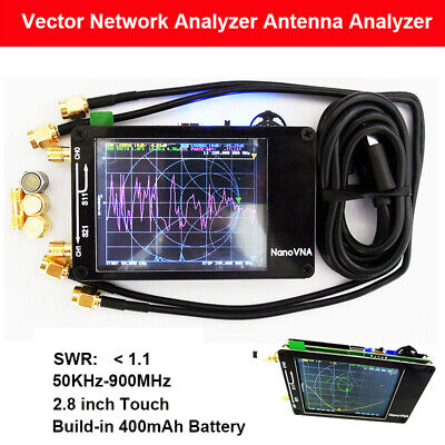 Nanovna 50KHz-900MHz Vector Network Analyzer UHF VHF MF HF VNA Antenna Analyzer