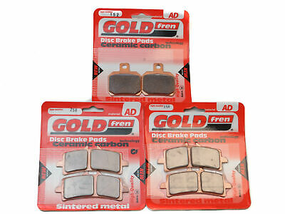 Goldfren Brake Pads Front & Rear For Ktm 1290 Superduke R 2014-2019