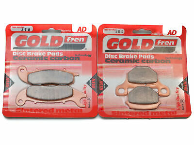 Goldfren Brake Pads Front & Rear For Derbi Terra 125 Adventure 2007-2014