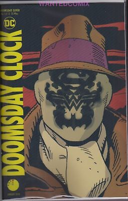 Doomsday Clock #1 (Of 12) Lenticular 3D Variant Cover Batman Comic Book Watchmen