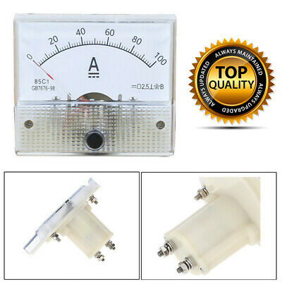 0- 200A DC Ammeter Amp Current Panel Meter Analogue Analog NEW WT