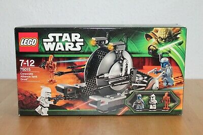 LEGO Star Wars 75015  Corporate Alliance Tank Droid mit Original Verpackung