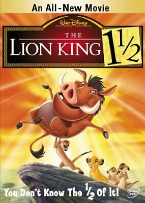 The Lion King 1 1/2 [DVD] NEW!