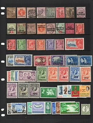 Bechuanaland collection mint and used QV-early QE Cat £165