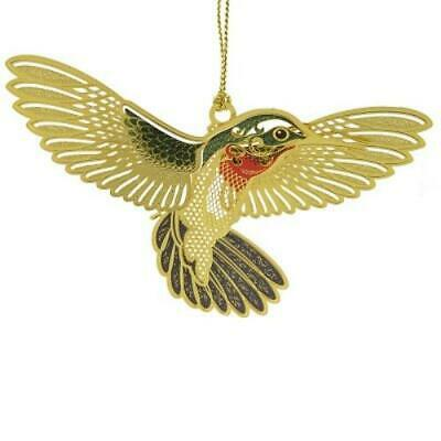 CHEM ART Humming Bird Ornament solid brass and varying finishes
