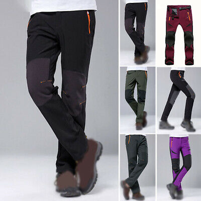 Winter Men Women Ski Warm Cargo Waterproof Skiing Snowboard Snow Trousers Pants