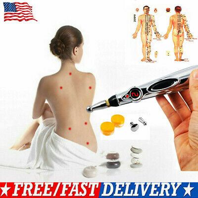 US Therapy Pen Electronic Acupuncture Meridian Energy Heal Massage Pain Relief