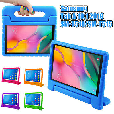 """Samsung Galaxy Tab A 10.1"""" Full Body Cover Case Handle Stand For Kids T510 T515"""