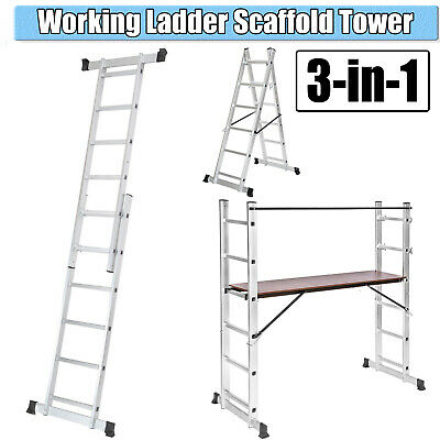 Metal Steel Scaffolding Heavy Duty Aluminium Platform Work Bench Folding Hop Up