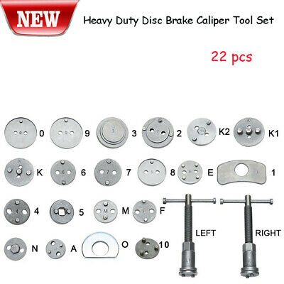 Heavy Duty Disc Brake Caliper Tool Set and Wind Back Kit for Brake Pad