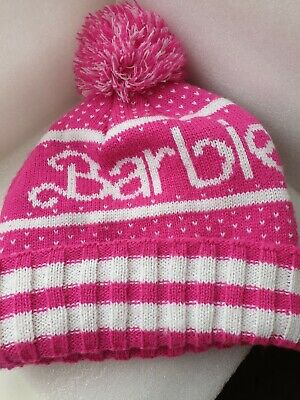 Barbie Bobble Hat, Mattel. Pink.