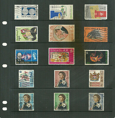Hong Kong  one stock sheet  mix collection stamps