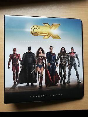 CZX DC Super Heroes & Villains Official Cryptozoic Binder