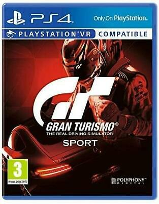 Gran Turismo Sport PS4 New and Sealed Free UK Shipping