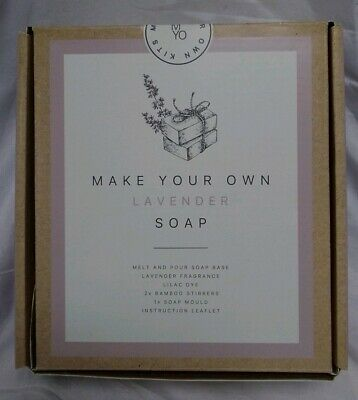 New M&S Make Your Own Lavender Soap