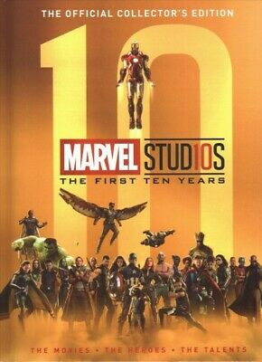 Marvel Studios The First Ten Years, Hardcover by Titan Magazines (COR), Brand...