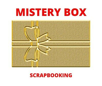 Mistery Box Scrapbooking cartoleria decorazioni carte