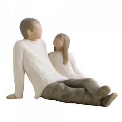 Willow Tree Father and Daughter Figurine Ornament 26031 - New & Boxed