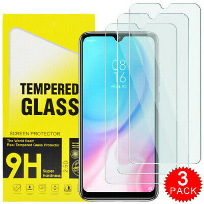 3 X For Xiaomi Redmi Note 8 8A Tempered Glass Screen Protector - BRAND NEW!!