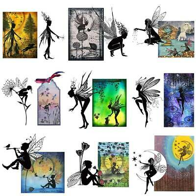Fairy Beauty Silicone Clear Seal Stamp Embossing Scrapbooking Album Decorative