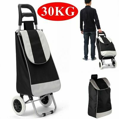 High Quality Shopping Trolley Supermarket Grab Push Cart Basket Bag Side Pocket