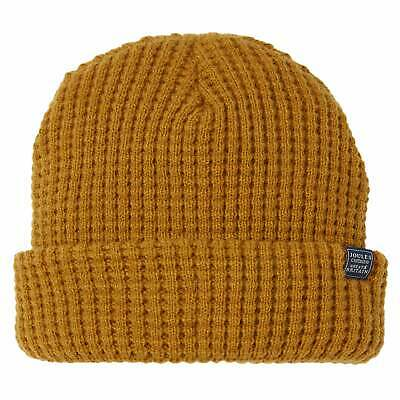 Joules Bamburgh Cable Knit Headwear Hat - Buckthorn One Size