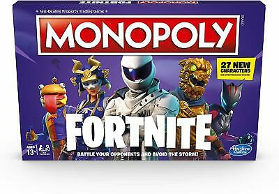 Monopoly Fortnite Edition Board Game Video 2019 Edition Kids Family Game