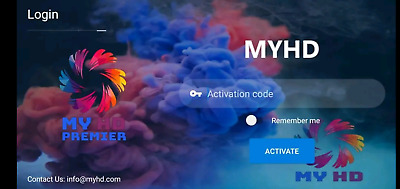 12 months iptv myhd  premier for android box support