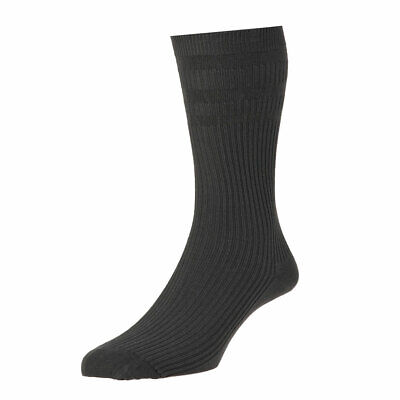 HJ-1910 Hj Hall Softop Soft Top No Elastic Extra Roomy Wide Top Bamboo Rich Sock