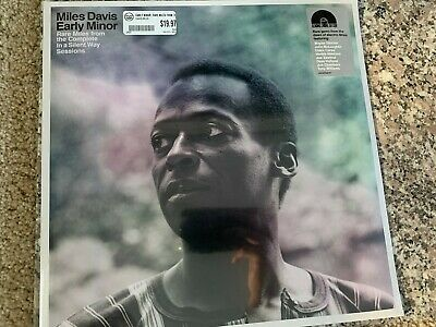 Miles Davis Early Minor From Silent Way Lp Vinyl 2019 Rsd