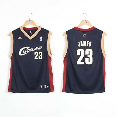 Kids Boys Youths Cleveland Cavaliers Nba Basketball Jersey Vest 12 - 14 Years