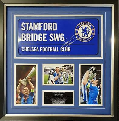 Frank Lampard SIGNED AUTOGRAPH Chelsea AFTAL UACC RD