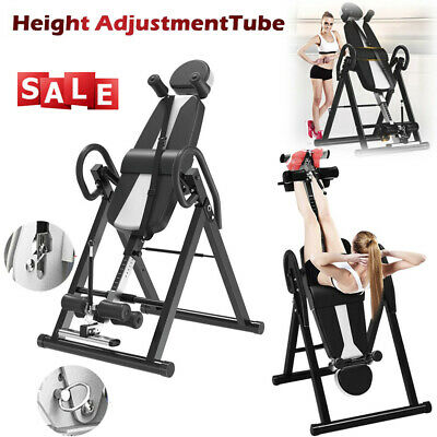 Black Friday Heavy Duty Gravity Inversion Table Fitness Back Pain Relief Exercis