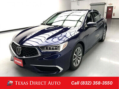 2018 Acura TLX w/Technology Pkg Texas Direct Auto 2018 w/Technology Pkg Used 2.4L I4 16V Automatic FWD Sedan