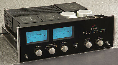 McINTOSH MC2505 Stereo Power Amplifier with Autoformers MC-2505 SUPER!