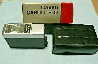 New Canon Canolite D Electronic Flash