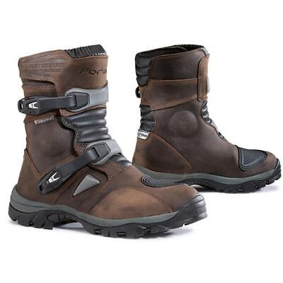 Boots Technicians Motorcycle with Guards Forma Adventure FORC50W-24 Brown