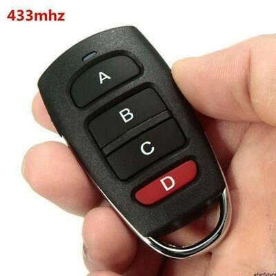 Universal Replacement Garage Door Car Gate Cloning Remote Control Key Fob 433MHZ