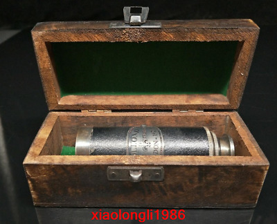 A set China old antique Telescope With a box