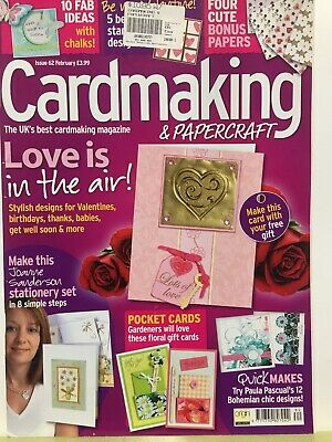 Craft Magazine:  Cardmaking & Papercraft Issu 62