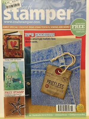 Craft Magazine: Stamper Oct 2011