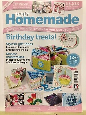 Craft Magazine:  Simply Homemade  - Upcycle in Style