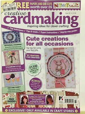 Craft Magazine:  Cardmaking Issue 32