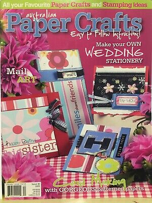 Craft Magazine:  Australian Paper Crafts Issue 40