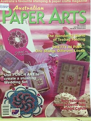 Craft Magazine:  Australian Paper Arts  No 19